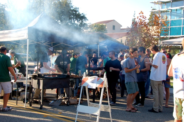 Be sure to check out the tailgates at the next home game!