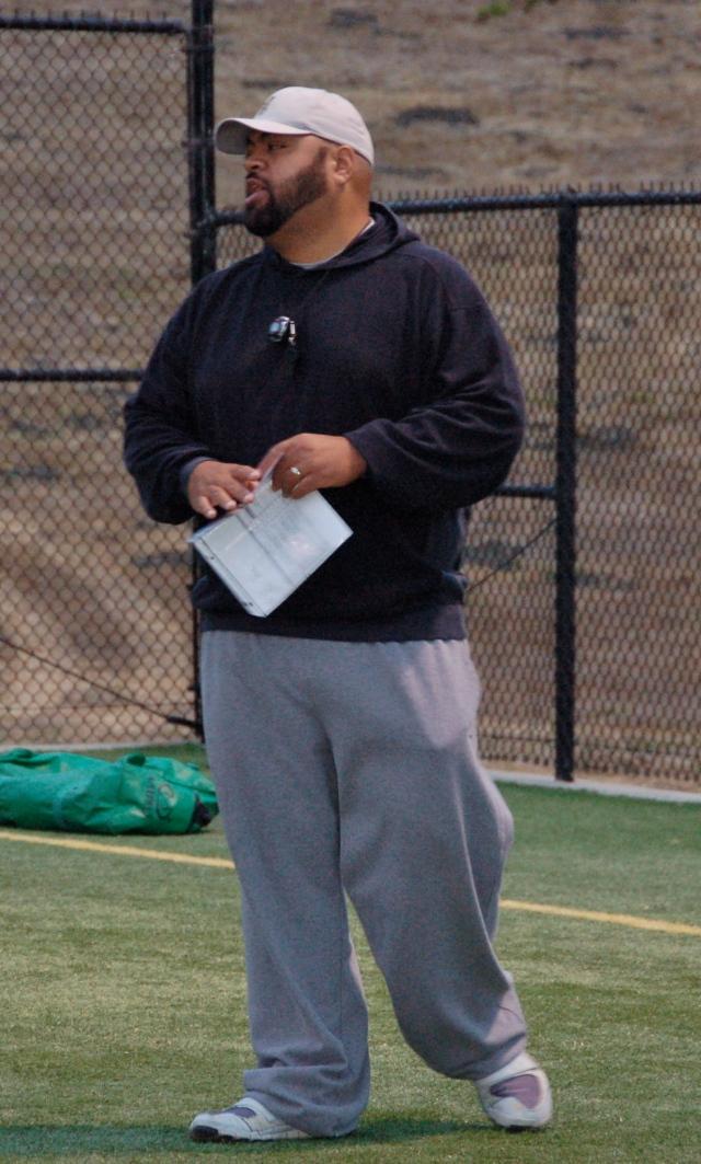 Offensive Coordinator, Coach Saga Tuitele