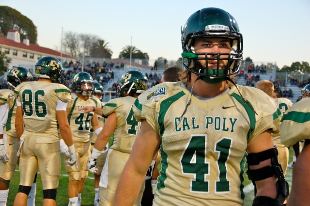 Junior linebacker, Nick Dzubnar