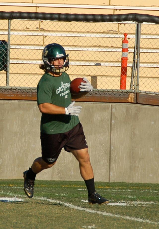 Senior fullback, Matt Rulon
