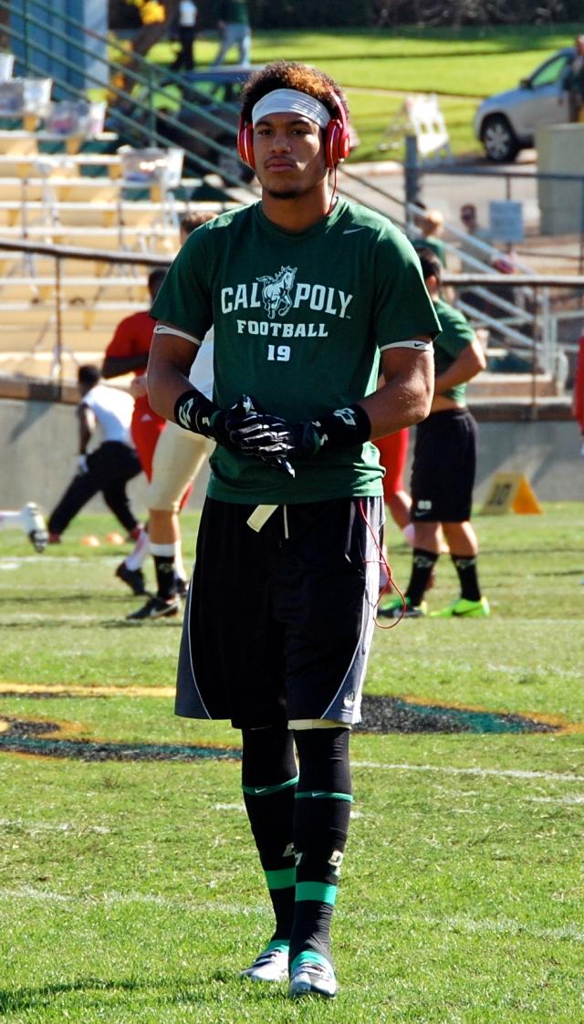 Freshman wide receiver, Cam Akins