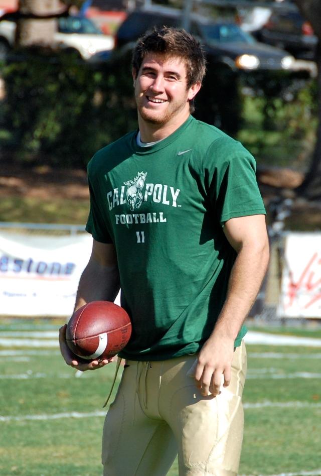 Senior captain and linebacker, Johnny Millard
