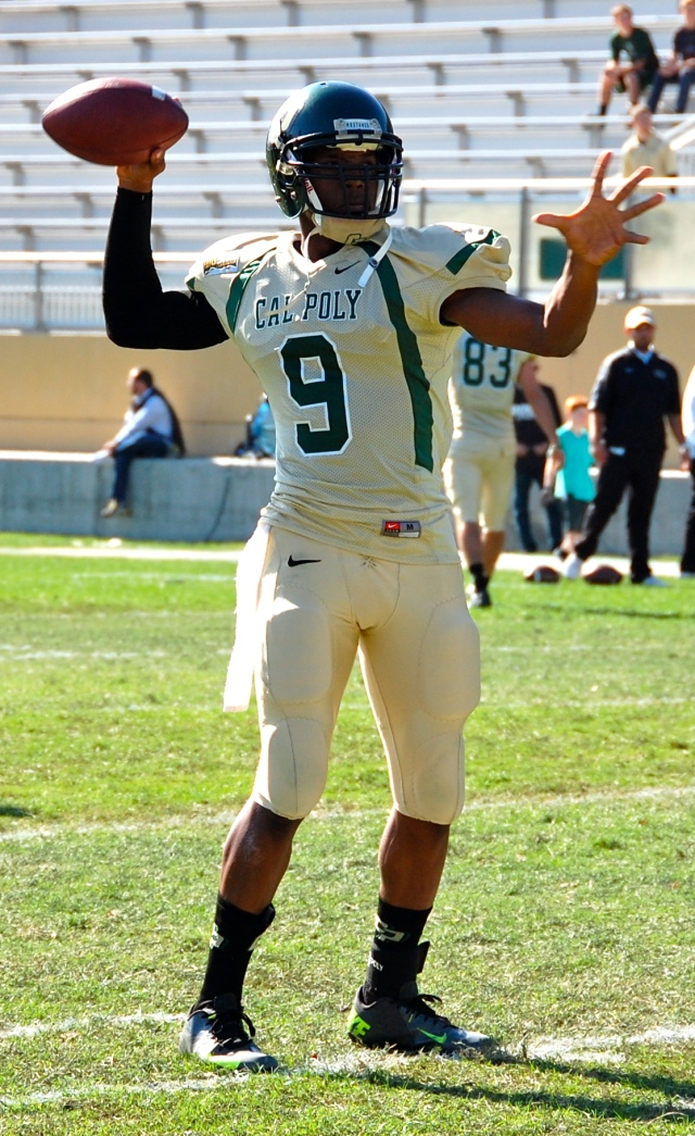 Sophomore quarterback, Chris Brown
