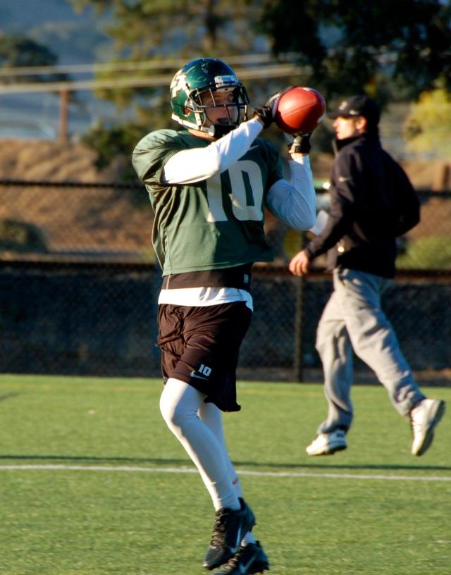 Freshman wide receiver Carson McMurtrey