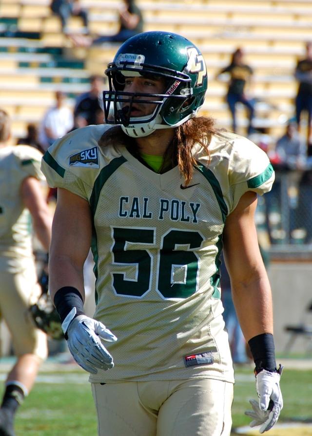 Junior linebacker, Nick Moyer