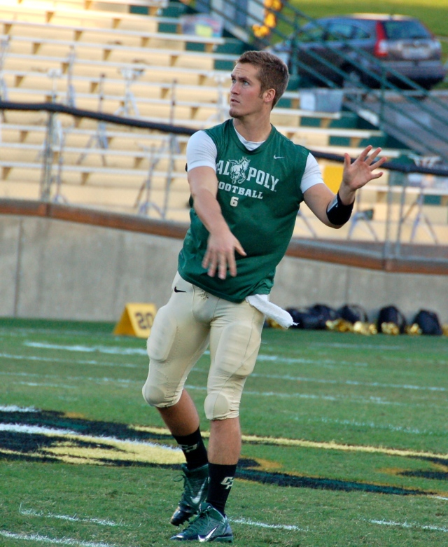 Senior quarterback, Kenny Johnston