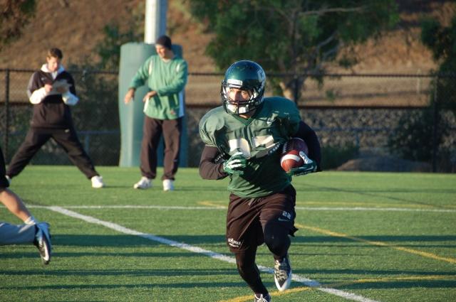Junior wide receiver, Chris Nicholls