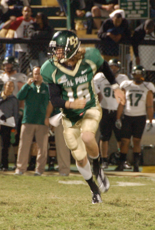 Freshman quarterback, Tanner Trosin