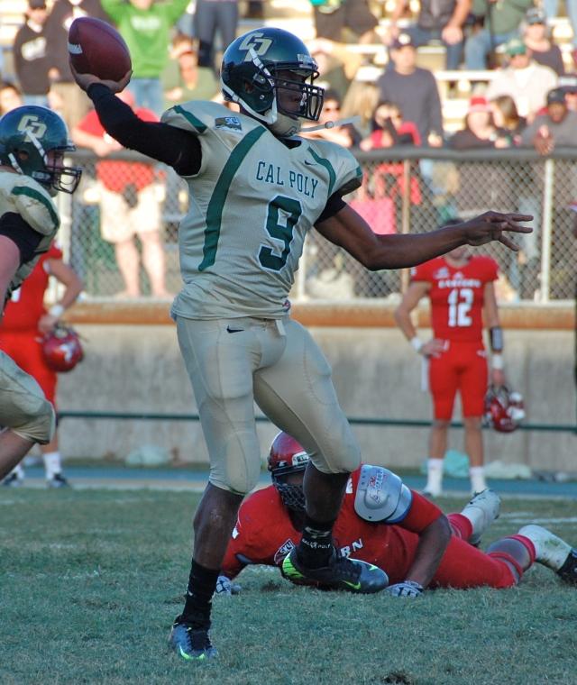 Sophomore quarterback Chris Brown