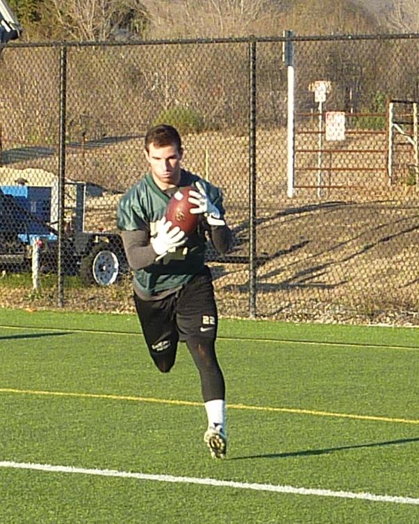 Junior wide receiver Chris Nicholls