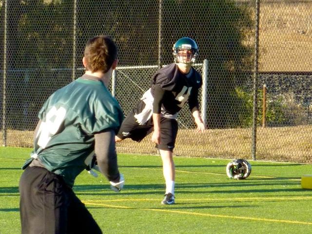 Sophomore quarterback Dano Graves