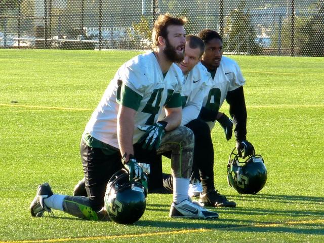 Junior linebacker Nick Dzubnar