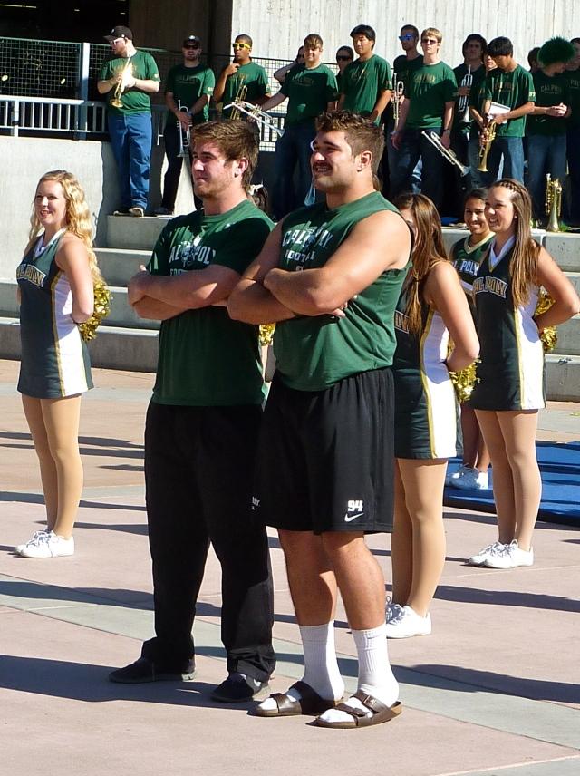 Captains Johnny Millard and Sullivan Grosz