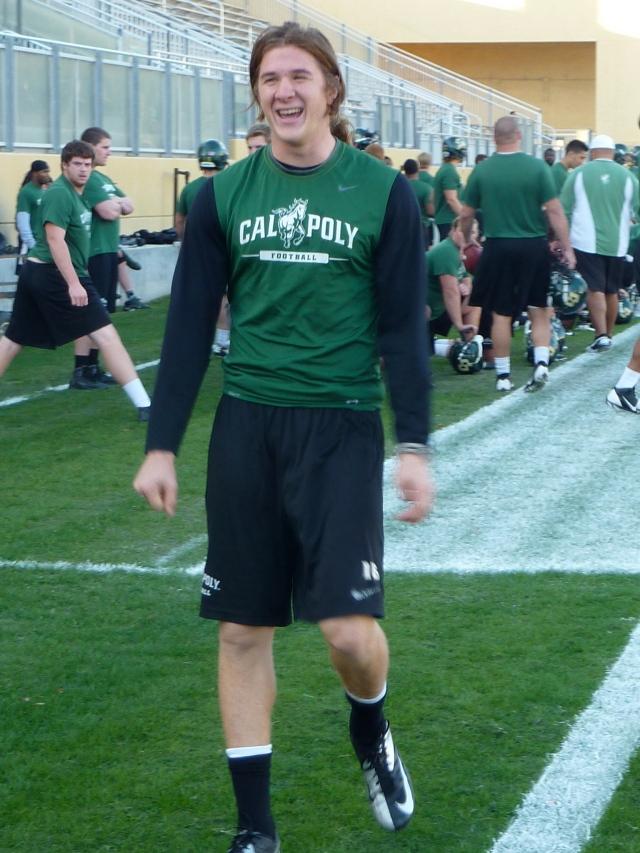 Sophomore quarterback Tanner Trosin